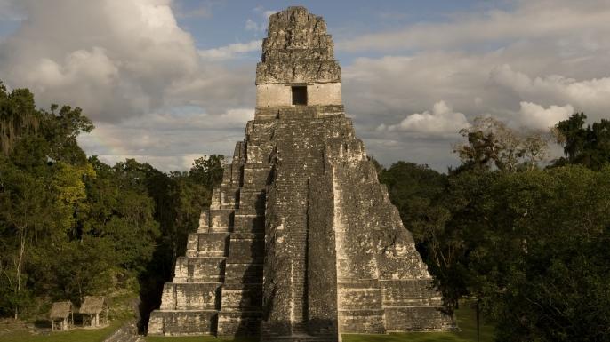 the temple of the jaguar, pyramid I, tikal, temple I, temples at tikal, mesoamerican pyramids, latin america, temple of the jaguar