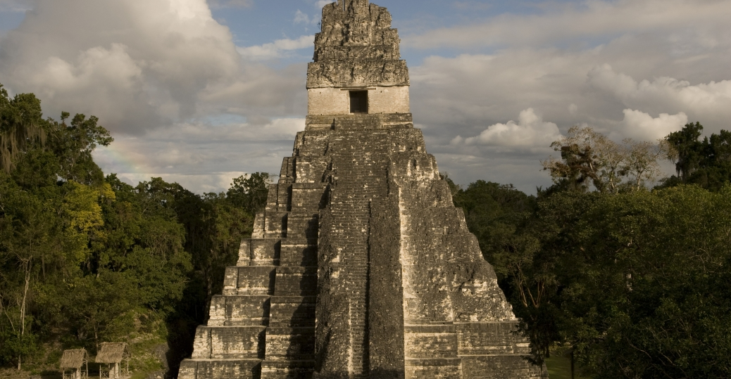 the temple of the jaguar, pyramid I, tikal, temple I, temples at tikal, mesoamerican pyramids, latin america, temple of the jaguar