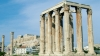 temple of olympian zeus, athens, corinthian order, greek architecture, 2nd century BCE, ancient greece