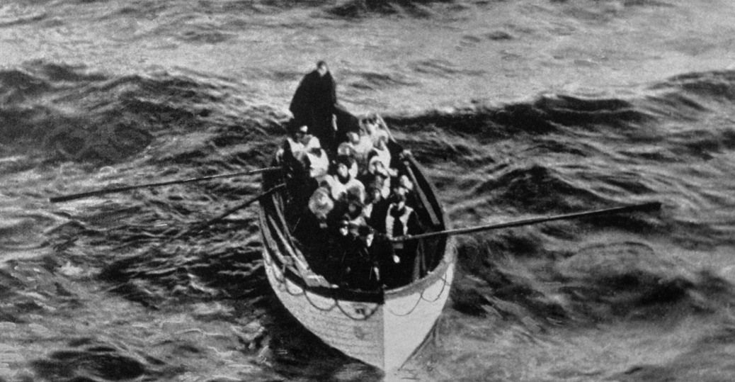 april 15, 1912, lifeboat, the titanic, the carpathia, titanic survivors