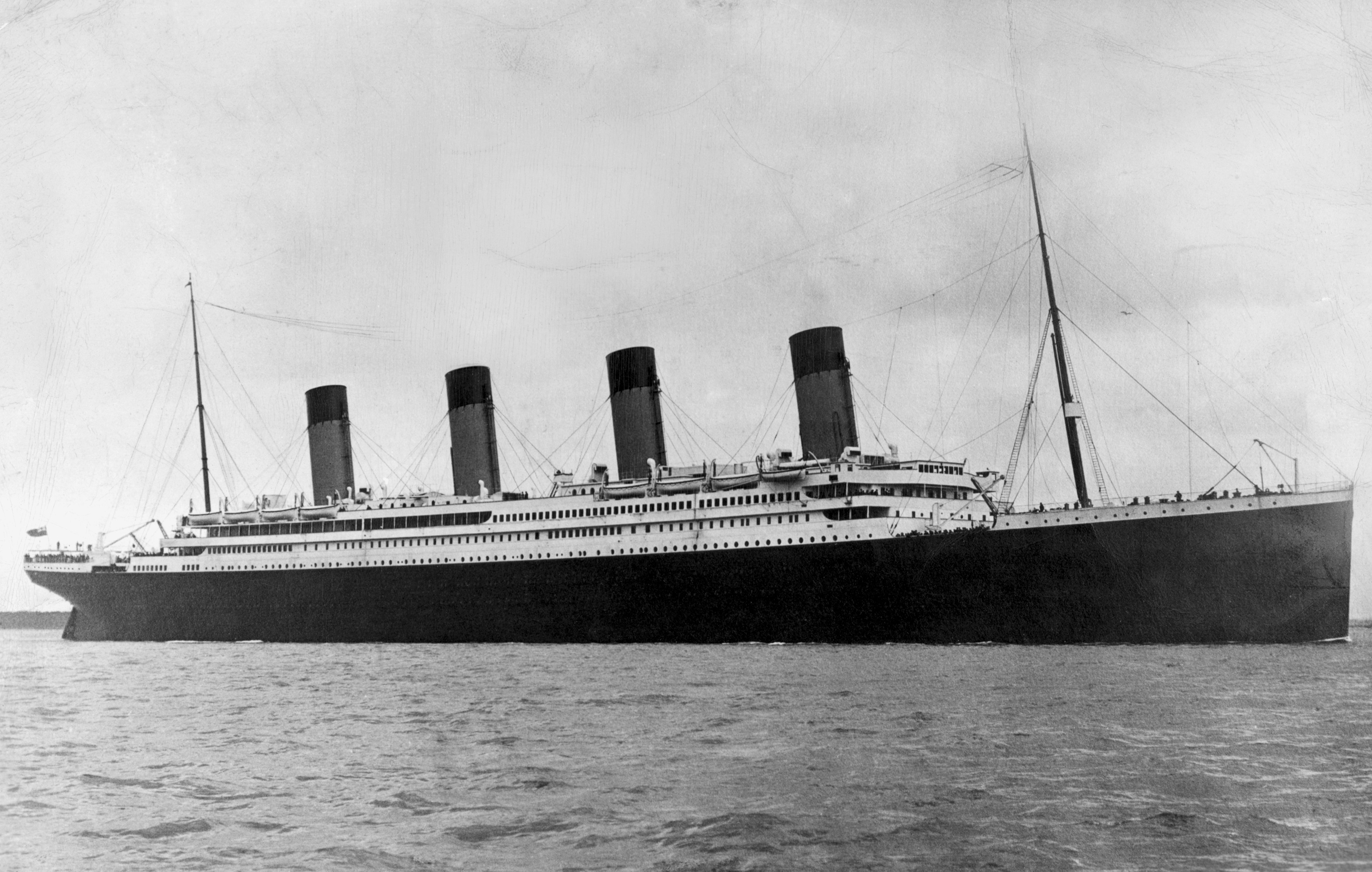 Titanic Before And After Pictures