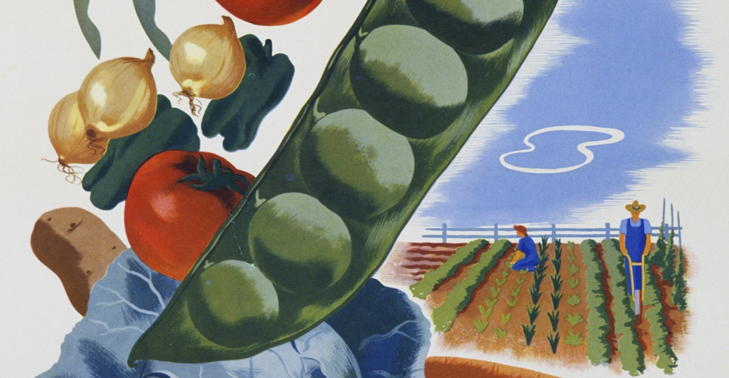 your victory garden counts more than ever, world war II, poster