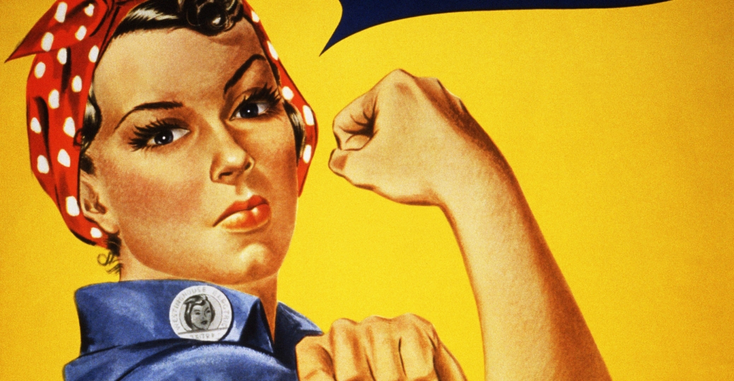 we can do it, 1942, world war II, poster, rosie the riveter