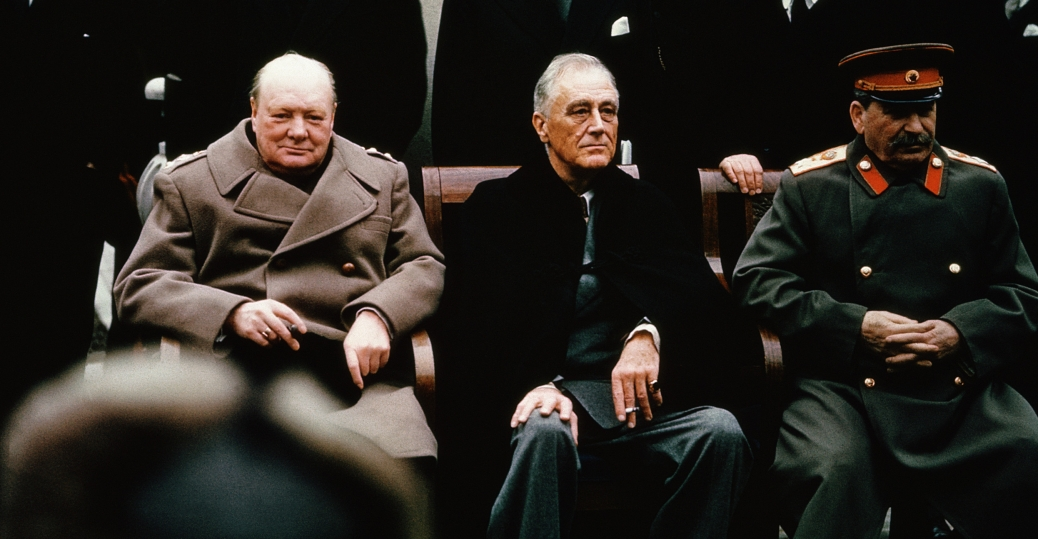 world-leaders-at-the-yalta-conference-1945 - World War II ...