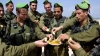 israeli soldiers, apples and honey, rosh hashanah, rosh hashanah traditions