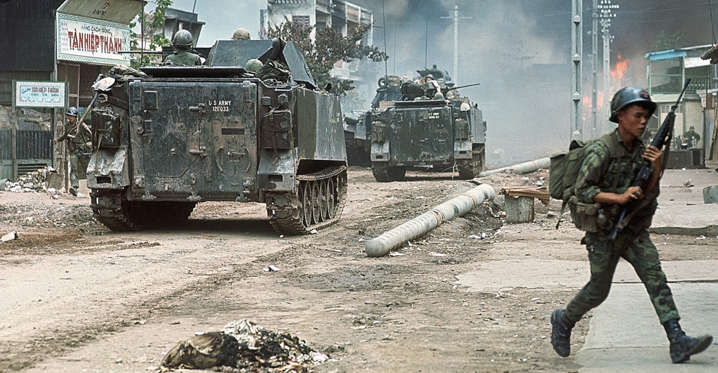 north saigon, the vietnam war, tet offensive