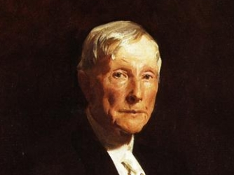 john d rockefeller facts summary com
