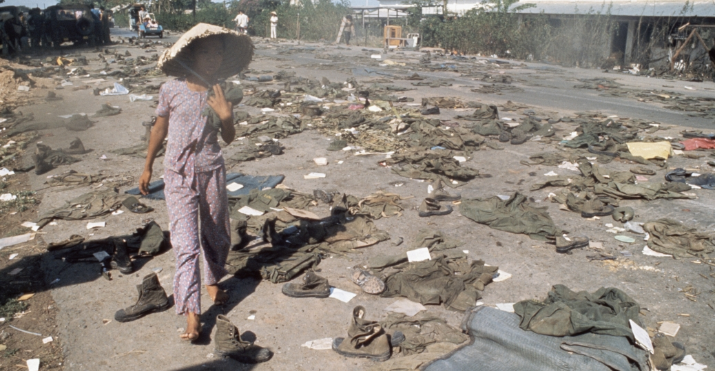 south vietnam, abandoned uniforms, communist invasion, the vietnam war, fall of saigon