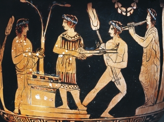 Help archaic greek art!!!!?