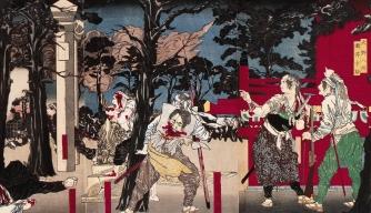 battle of ueno, tokyo, 1868, meiji emperor forces, the shogunate system, meiji restoration