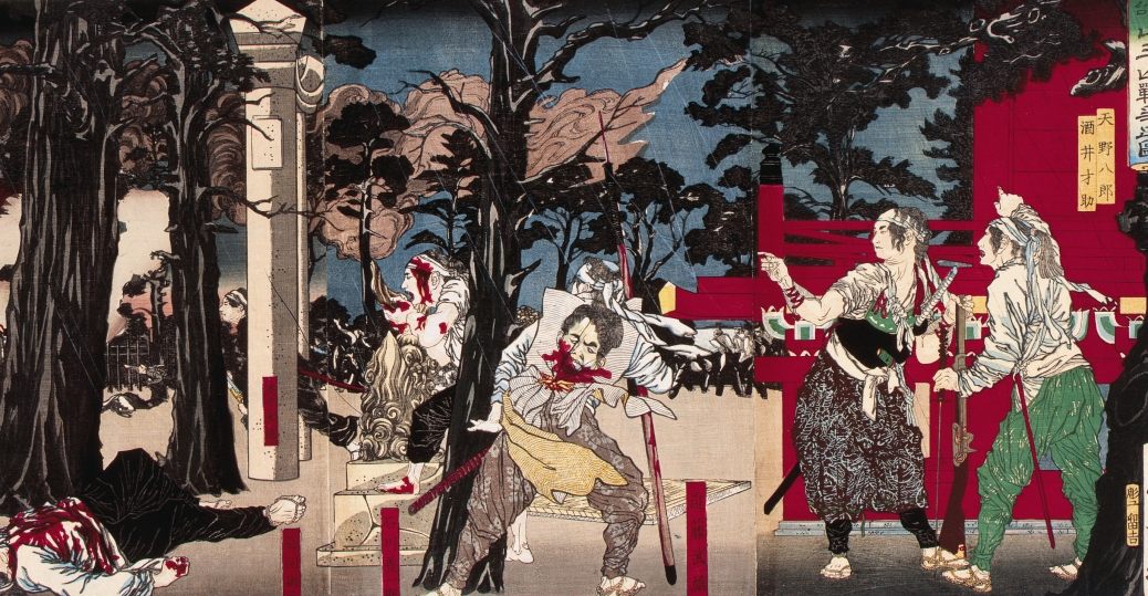 battle of ueno, tokyo, 1868, meiji emperor forces, the shogunate system, meiji restoration