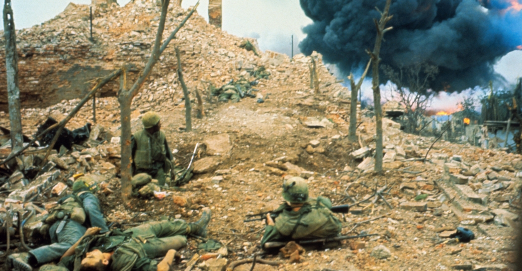 citadel, u.s. forces, tet offensive, the vietnam war, hue