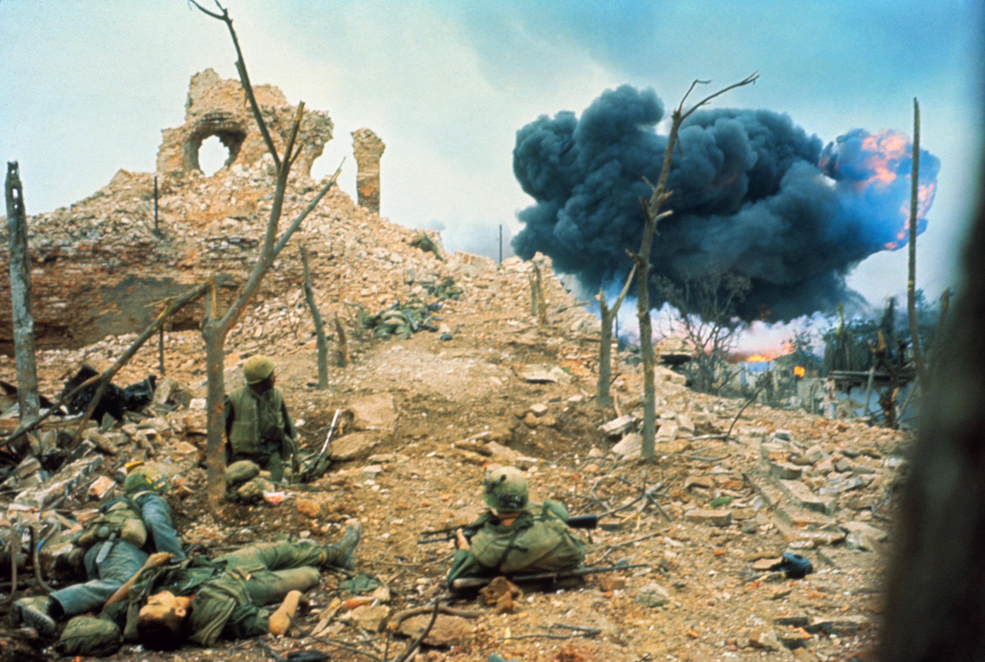 Vietnam War: Tet Offensive Pictures - Vietnam War History ...