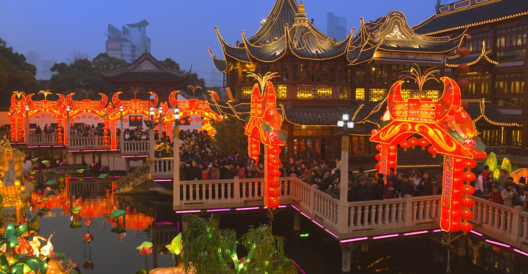 chenghuang temple fair, shanghai, china, chinese new year, lantern festival, holidays, new year traditions