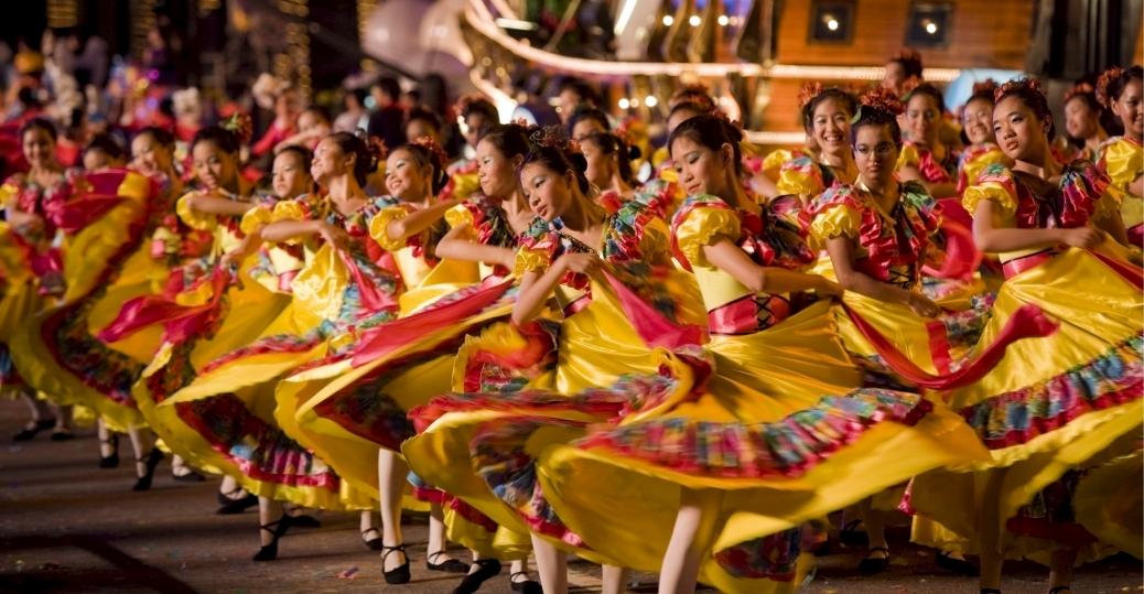 chingay parade, singapore, chinese new year, holidays, celebratory parade
