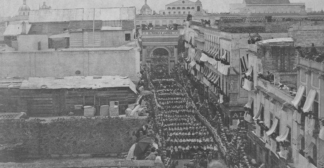 benito juarez, maximilian I, mexico city, army of benito juarez