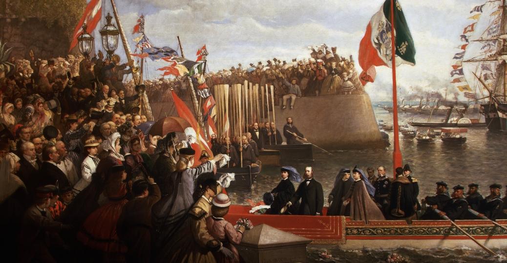 1864, austrian archduke ferdinand maximilian, emperor of mexico, maximilian I