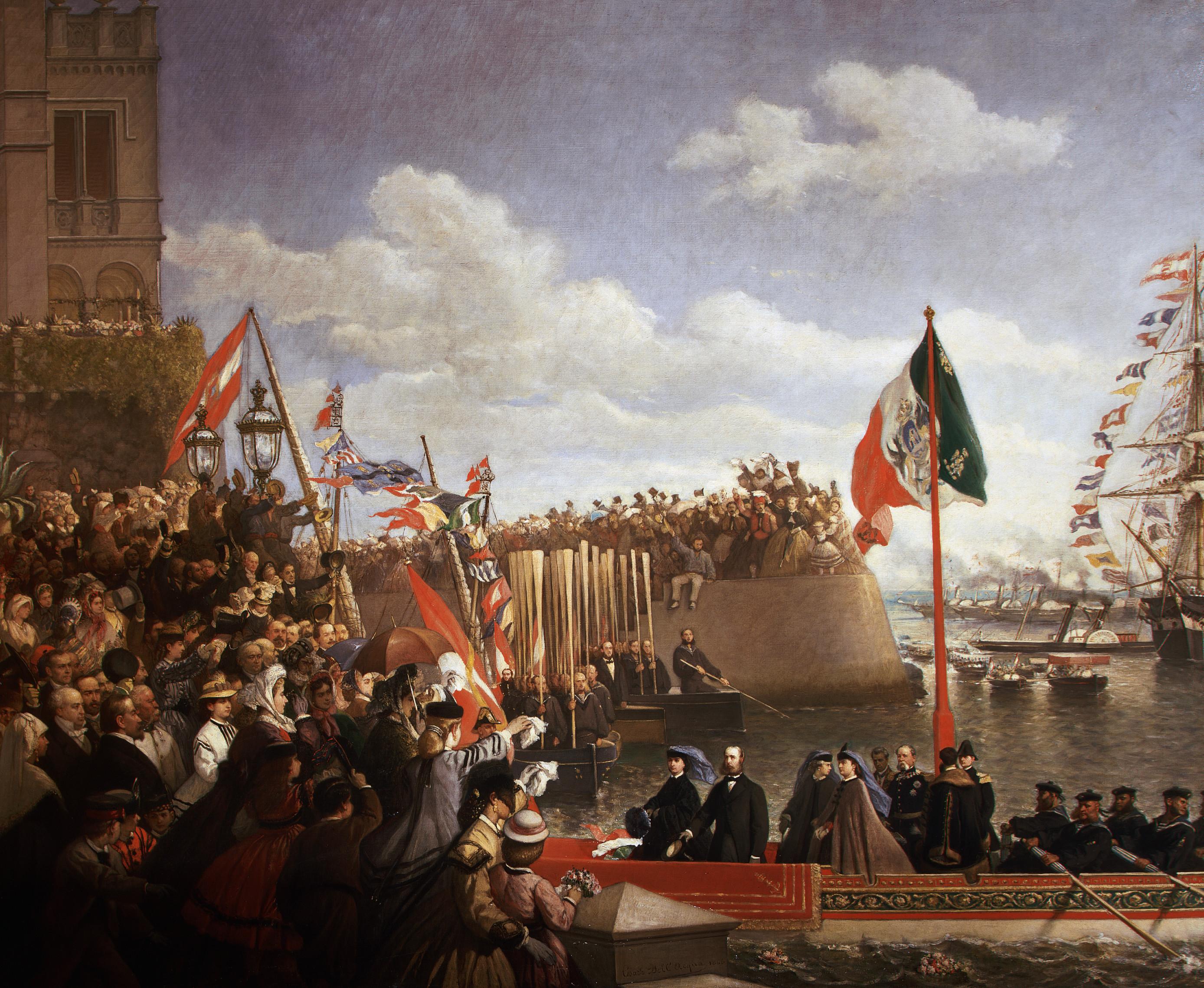Uncategorized Origins Of Cinco De Mayo cinco de mayo pictures history com parade 1864 austrian archduke ferdinand maximilian emperor of mexico i