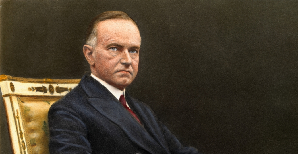 calvin coolidge, 30th president of the united states, civil war to great depression presidents, presidents of the united states