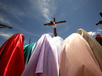 the crucifixion, mexico, easter