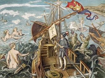 christopher columbus, the nina, the pinta, the santa maria, columbus day