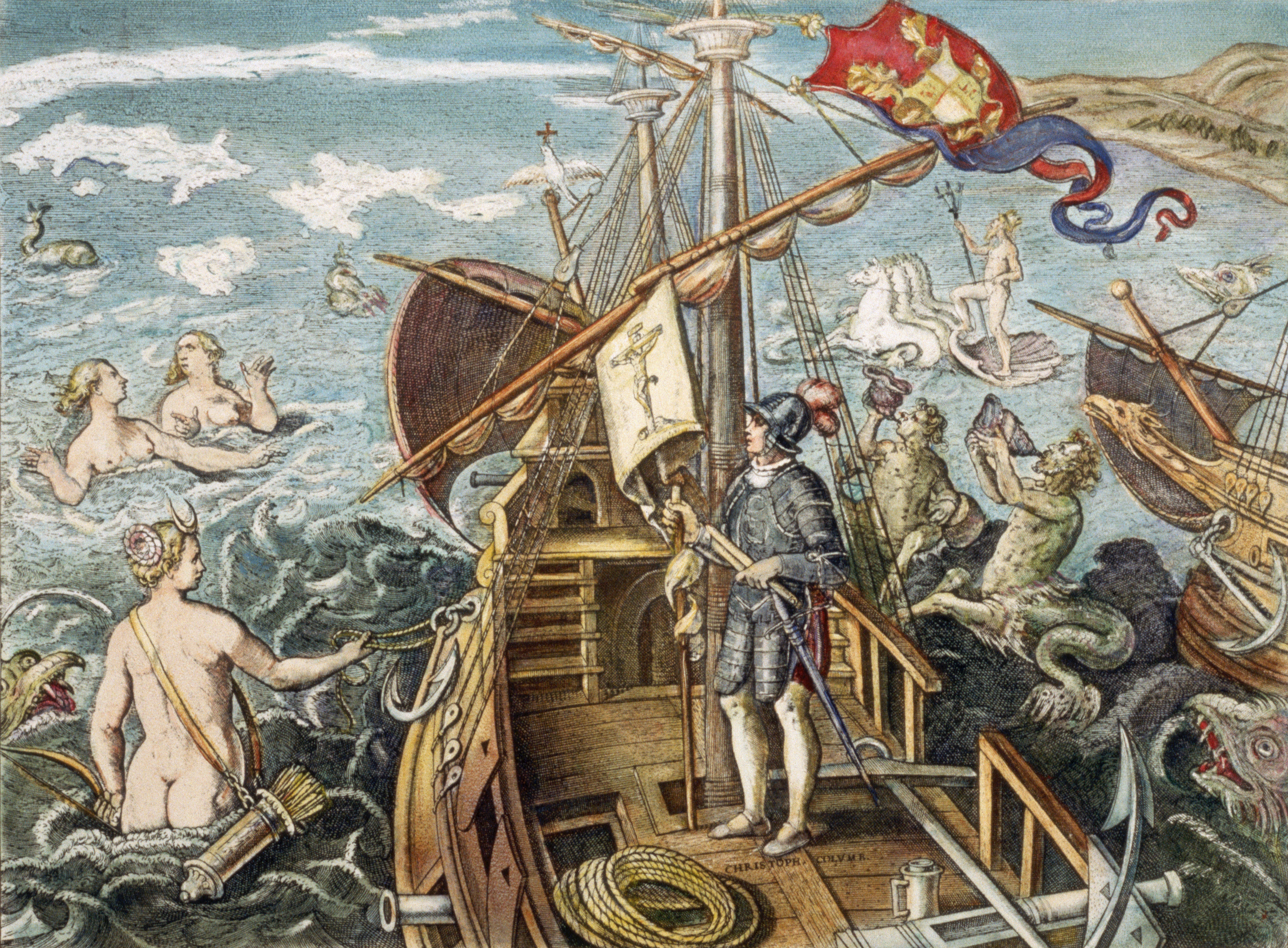 "an analysis of the discovery of the america by christopher columbus in 1492 Christopher columbus begins his journal by  journal of christopher columbus"" summary and analysis + ""on  the globalization of latin america,."