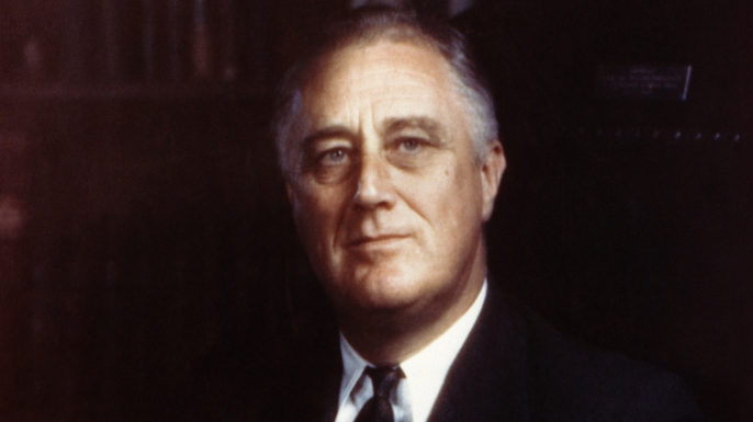 franklin d. roosevelt, fdr, 32nd president of the united states, presidents of the united states, presidents: world war II to today
