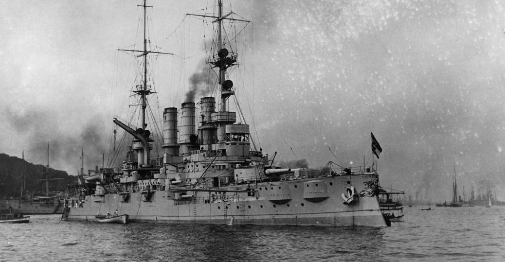 german warship, world war I, world war I technology