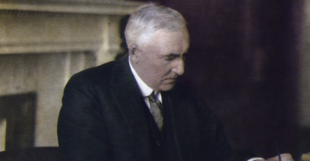 warren g. harding, 29th president of the united states, civil war to great depression presidents, presidents of the united states