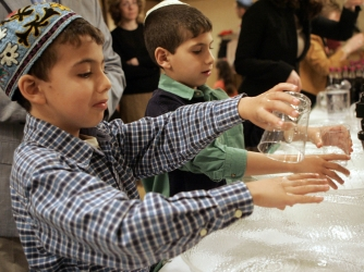 hand washing, passover, passover seder