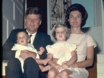 the kennedy family, president john f. kennedy, jacqueline kennedy, john kennedy jr., caroline kennedy, presidents and their children