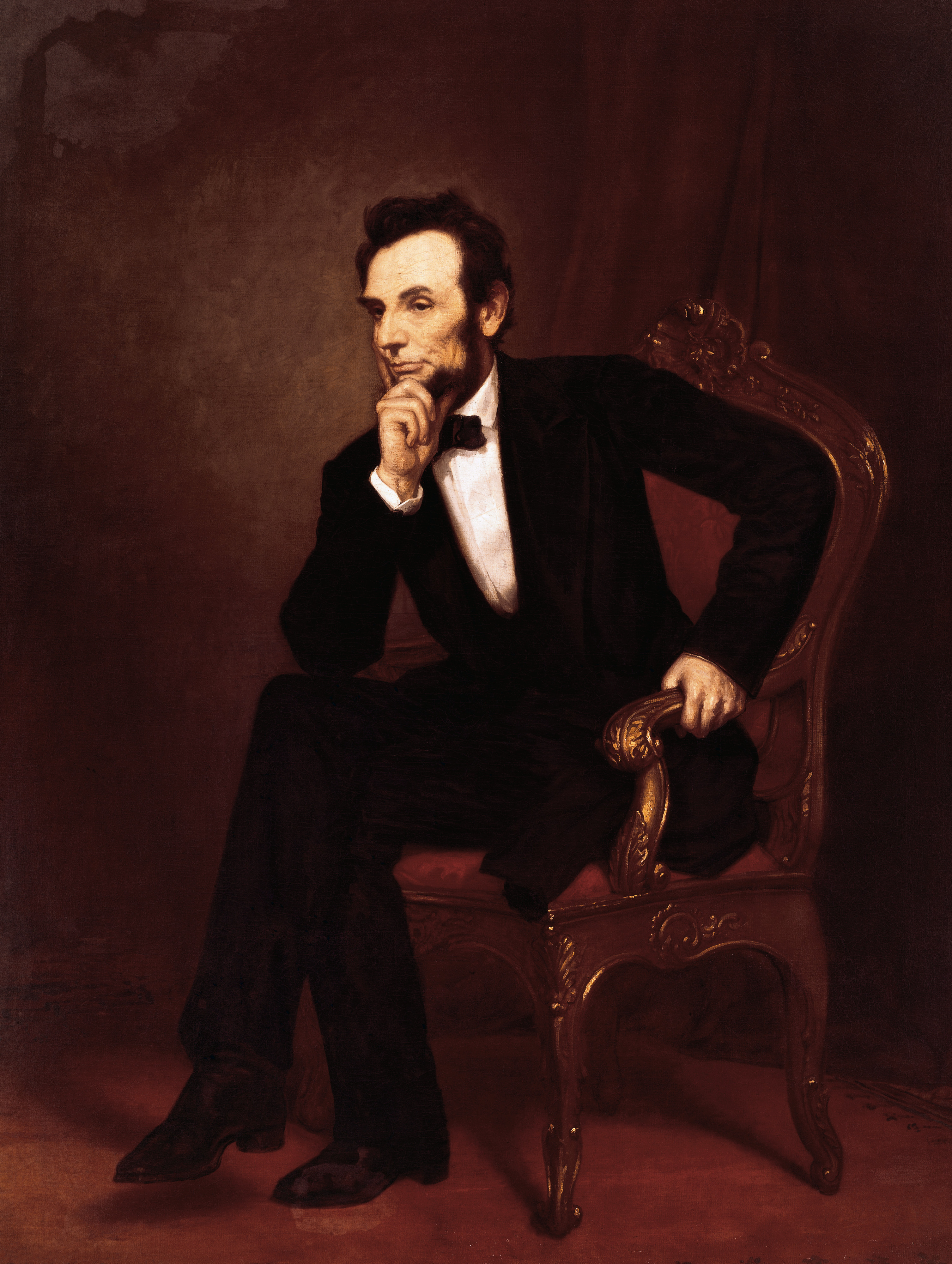 Allan Pinkerton and Abraham Lincoln