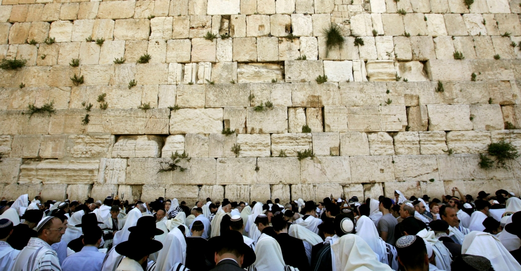 passover, the western wall, jerusalem