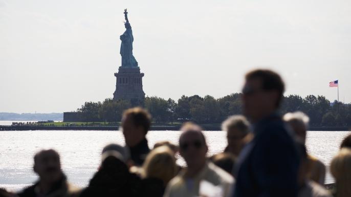 new york harbor, the statue of liberty, ellis island, immigration
