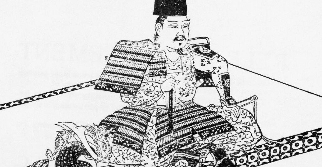 yoritomo, founder of the shogunate system, feudal japan, first shogun of japan