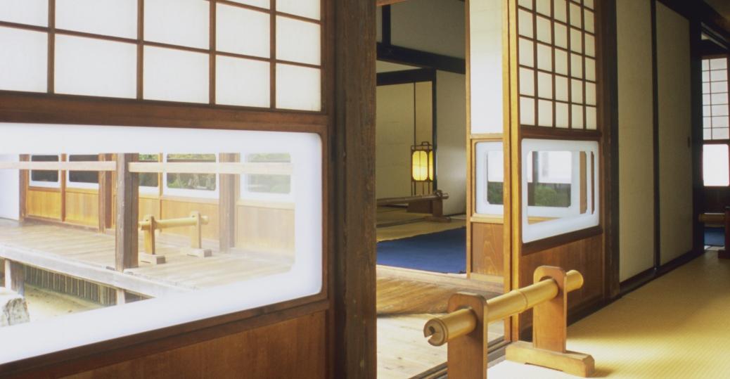 hosokawa residence, samurai mansion, hosokawa clan, feudal japan, samurai