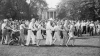 the conga, lafayette park, president truman, japan's surrender, v-j day, world war II, end of WWII