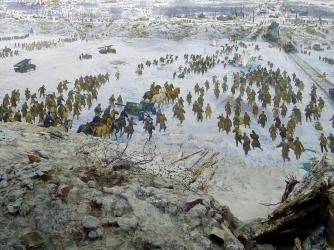 Museum-Diorama The Breakthrough Of The Siege Of Leningrad