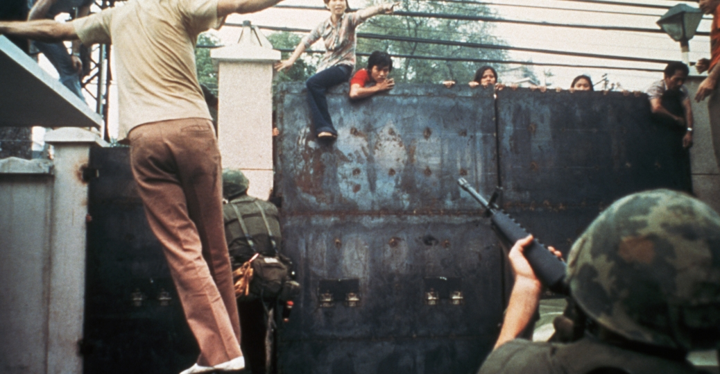 the united states embassy, south vietnam, the vietnam war, fall of saigon