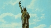 statue of liberty, postcard, new york, new york harbor, immigration, ellis island