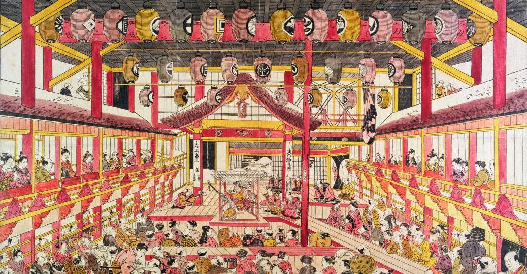 kabuki theater, japan, drama, singing, dancing