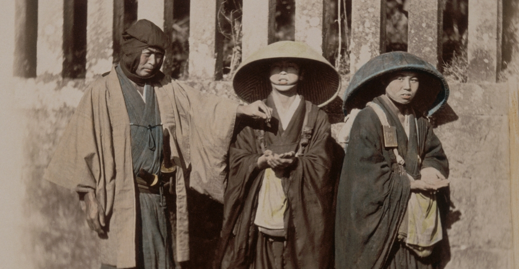 samurai, traditional samurai attire, feudal japan, 1860s