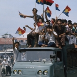fall of saigon, celebrations, april 30, 1975, the vietnam war, the end of the vietnam war