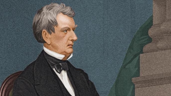 Engraved Portrait Of William Henry Seward