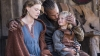 Alyssa Sutherland as Aslaug and Travis Fimmel as Ragnar