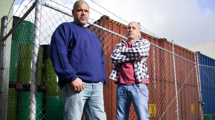 Big Rig Bounty Hunters, Shawn, Vince