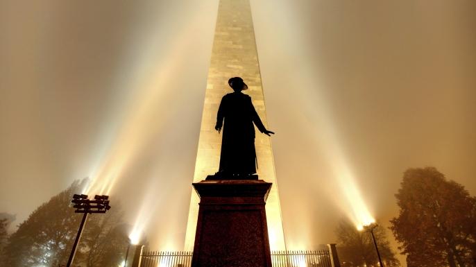 Bunker Hill Monument, Battle of Bunker Hill, American Revolution, Sons of Liberty