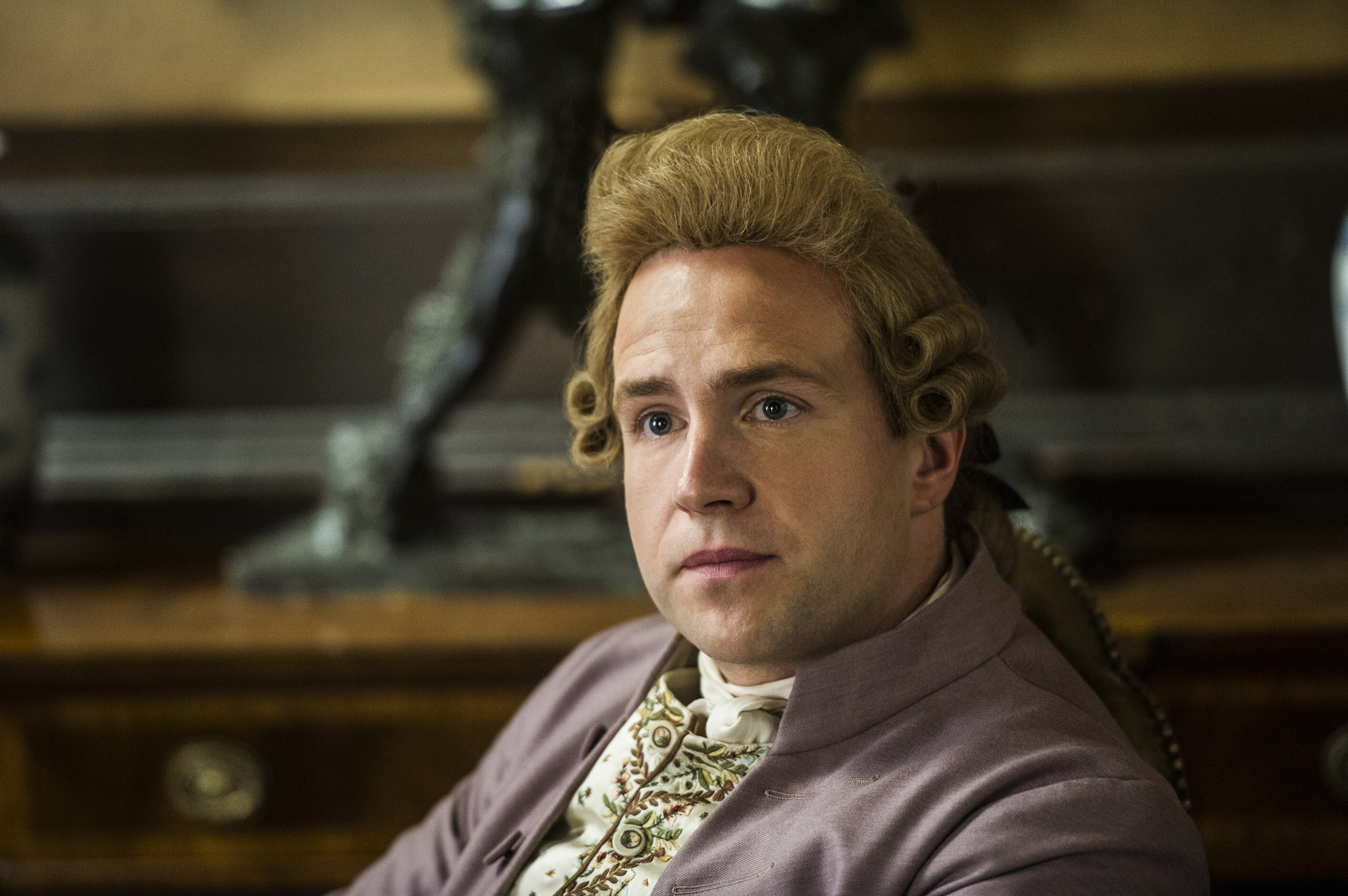 Rafe Spall As John Hancock In