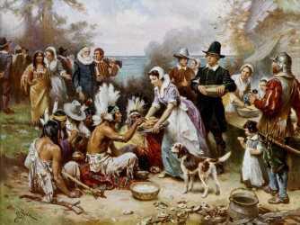 Thanksgiving, Plymouth Colony