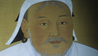 Where is Genghis Khan buried?